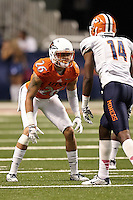 SAN ANTONIO, TX - OCTOBER 25, 2014: The University of Texas at El Paso Miners defeat the University of Texas at San Antonio Roadrunners 34-0 at the Alamodome. (Photo by Jeff Huehn)