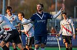 AMSTELVEEN - Bram Weers (Pinoke) tijdens de competitie hoofdklasse hockeywedstrijd heren, Pinoke-Amsterdam (1-1)   COPYRIGHT KOEN SUYK