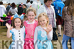 l-r  Kate Brick, Sarah Brick and Mia Hunt at Kilflynn Enchanted Fairy Festival on Sunday