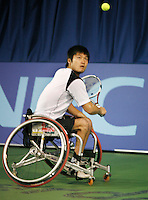 17-11-07, Netherlands, Amsterdam, Wheelchairtennis Masters 2007, Kunieda