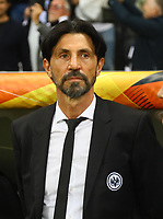 Sportmanager Bruno Hübner (Eintracht Frankfurt) - 02.05.2019: Eintracht Frankfurt vs. Chelsea FC London, UEFA Europa League, Halbfinale Hinspiel, Commerzbank Arena DISCLAIMER: DFL regulations prohibit any use of photographs as image sequences and/or quasi-video.