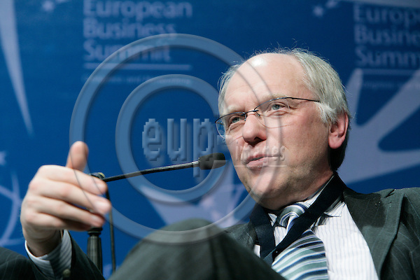BRUSSELS - BELGIUM - 16 MARCH 2007 -- Lars G. JOSEFSSON, President, CEO, Vattenfall. -- PHOTO: ERIK LUNTANG / EUP-IMAGES