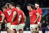 Josh Navidi of Wales looks dejected. Natwest 6 Nations match between England and Wales on February 10, 2018 at Twickenham Stadium in London, England. Photo by: Patrick Khachfe / Onside Images