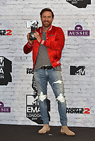 David Guetta - winner, Best Electronic<br /> MTV EMA Awards 2017 in Wembley, London, England on November 12, 2017<br /> CAP/PL<br /> &copy;Phil Loftus/Capital Pictures
