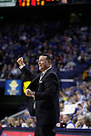 UK head coach Matthew Mitchell during the second half of the women's basketball game v. Depaul University in Rupp Arena in Lexington, Ky., on Sunday, December 7, 2012. Photo by Genevieve Adams | Staff