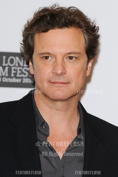 "Colin Firth at the press conference of ""The King's Speach"" as part of the 2010 London Film Festival, at the Vue cinema, Leicester Square, London.  21/10/2010  Picture by: Steve Vas / Featureflash"