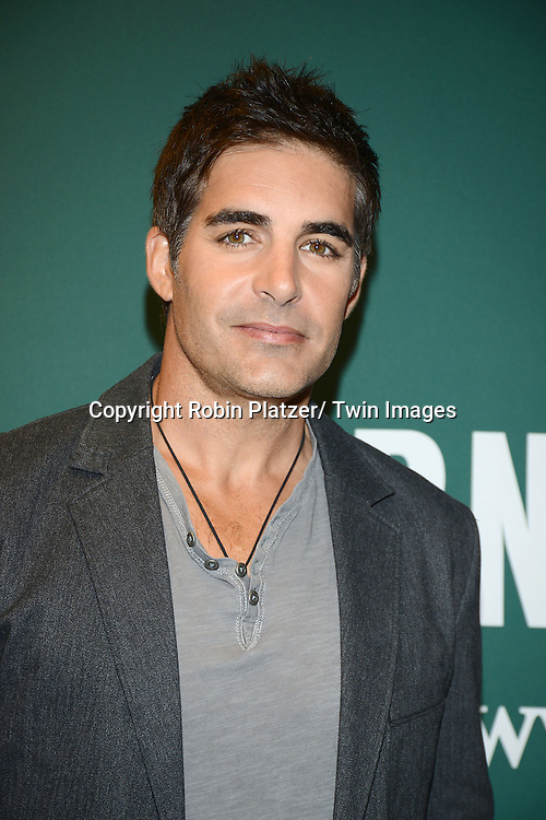 """Galen Gering attends the Days of Our Lives Cast signing """" Days of Our Lives Better Living""""  book on September 23, 2013 at Barnes & Noble on 5th Avenue in New York City. The book was written by Eddie Campbell and  Greg  Meng."""