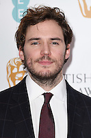 Sam Claflin at the announcement of nominations for the 2015 EE BAFTA Film Awards, BAFTA, London. 09/01/2015 Picture by: Steve Vas / Featureflash
