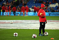 A Panama coach during the international friendly soccer match between Wales and Panama at Cardiff City Stadium, Cardiff, Wales, UK. Tuesday 14 November 2017.