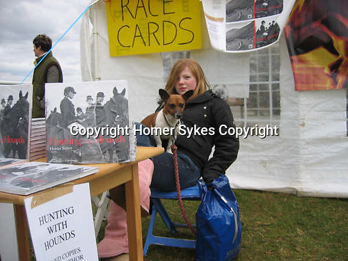 Selling Hunting withHounds Countryside Alliance, event show 2002.