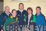Attending the Kerry GAA coaching senimer in Firies GAA clubhouse on Wednesday night were Mike McCarthy Milltown (Coaching Games Development Officer), Gloria O'Driscoll (Skellig Rangers), Donal Daly (GDA), Kitty Keating (Skellig Rangers) and Jimmy O'Sullivan (Skellig Rangers)   Copyright Kerry's Eye 2008