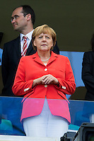 The German Chancellor Angela Merkel