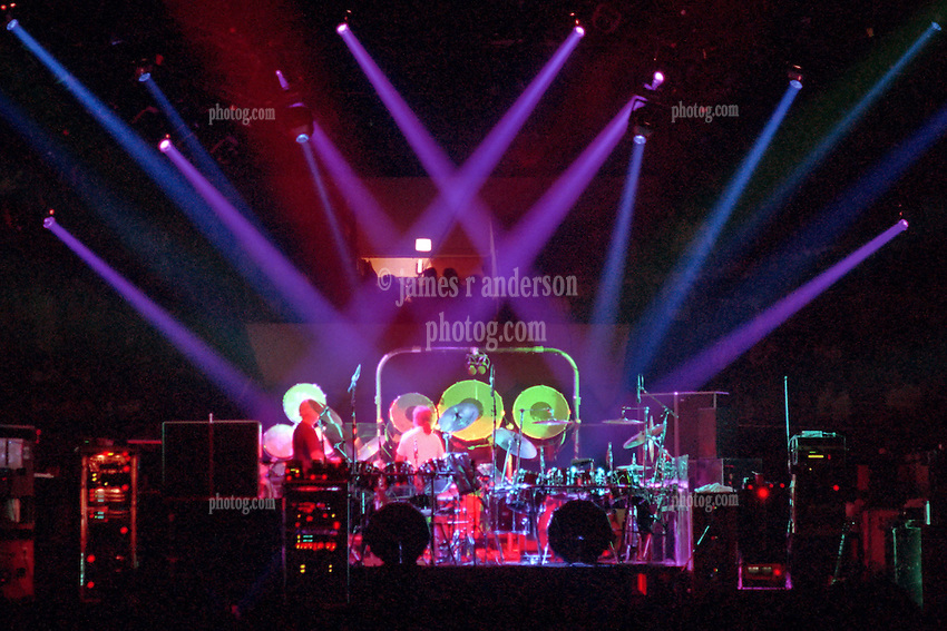 """The Grateful Dead Live at The Hampton Coliseum on 9 October 1989. One of the """"Formerly The Warlocks"""" concerts. Image capture during """"Drums"""". Limited Edition Photographic Prints available for purchase in Cart."""