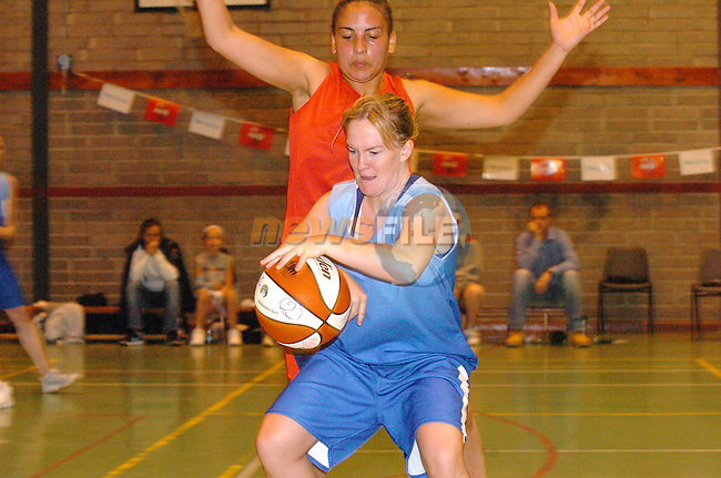 Mosney in action in the final of the Drogheda concentrates Pre Season Basketball tournament in Greenhills over the Weekend..Photo Fran Caffrey Newsfile.ie..This Picture has been sent to you by Newsfile Ltd..The Studio,.Millmount Abbey,.Drogheda,.Co. Meath,.Ireland..Tel: +353(0)41-9871240.Fax: +353(0)41-9871260.ISDN: +353(0)41-9871010.www.newsfile.ie..general email: pictures@newsfile.ie