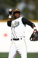 May 20, 2007: Hainley Statia of the Rancho Cucamonga Quakes during game against the Visalia Oaks at The Epicenter in Rancho Cucamonga,CA.  Photo by Larry Goren/Four Seam Images