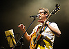 Haircut 100<br /> perform live at the Indigo 2<br /> O2 Arena, Greenwich, London, Great Britain <br /> 28th January 2011<br /> <br /> Nick Heyward<br /> of Haircut 100 <br /> <br /> <br /> Photograph by Elliott Franks