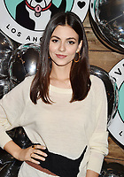 LOS ANGELES, CA - NOVEMBER 06: Victoria Justice attends Love Leo Rescue's 2nd Annual Cocktails for a Cause at Rolling Greens Los Angeles on November 06, 2019 in Los Angeles, California.<br /> CAP/ROT/TM<br /> ©TM/ROT/Capital Pictures