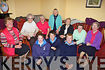 YOUNG AND OLD: Students of St Joseph's Secondary School, Ballybunion dropped in to meet some of the older people at the Towers Centre on Thursday last, front l-r: Megan Barry, Corey Meehan, Lee Sugrue. Back l-r: Kathleen Barry, Chris Bennett, Margaret Barry, Pamela Dowling, Eileen Long, Bridget Edgeworth, Joan Kissane.