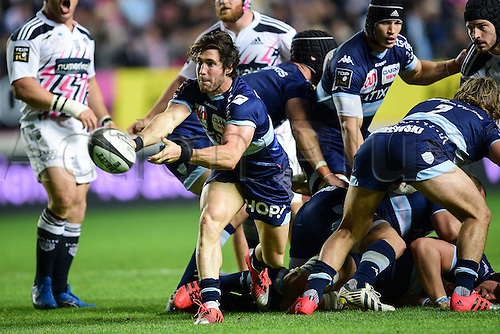 29.05.2015. Paris, France. Top 14 rugby playoff. Stade Francais versus Racing Metro.  Maxime MACHENAUD (RM92)