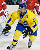 Oscar Lindberg (Sweden - 28) - Sweden defeated the Czech Republic 4-2 at the Urban Plains Center in Fargo, North Dakota, on Saturday, April 18, 2009, in their final match of the 2009 World Under 18 Championship.