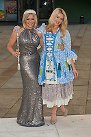 Suzanne Shaw and Holly Brewer at the Photocall to launch Cinderella Pantomime, Aylesbury Waterside Theatre, Buckinghamshire. 15/09/2014 Picture by: Dave Norton / Featureflash