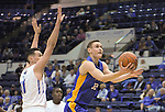 January 2, 2016 - Colorado Springs, Colorado, U.S. -  San Jose State forward, Ryan Welage #32, drives for a layup during an NCAA basketball game between the San Jose State Spartans and the Air Force Academy Falcons at Clune Arena, U.S. Air Force Academy, Colorado Springs, Colorado.  Air Force defeats San Jose State 64-57.
