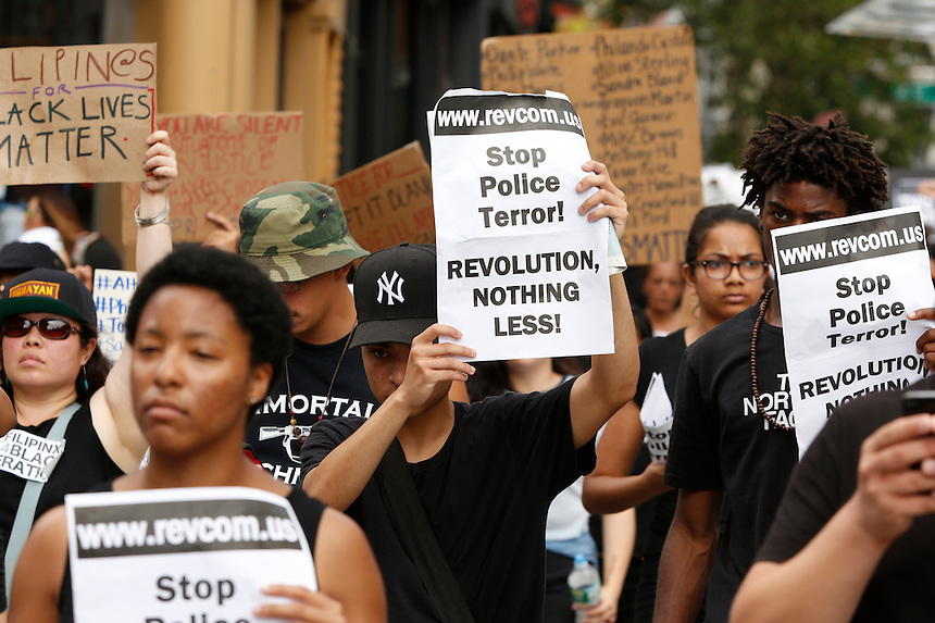NEW YORK - NEWS:  &quot;Black Lives Matter&quot; protest in Union Square, Manhattan, NY, Sunday, July 10, 2016.<br /> <br /> PICTURED:   <br /> <br /> (Angel Chevrestt, 646.314.3206)