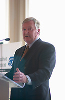 April 23, 2003, Montreal, Quebec, Canada<br /> <br /> Leon Gosselin, President and CEO, Axcan Pharma<br /> a bio medical company that develops and distributes pharmaceutical products, mainly in the field of gastroenterology<br /> <br /> The next day ,  Salix Pharmaceuticals  rejected  Axcan Pharma's  All-Cash Offer of  US$8.75 per Share <br /> <br /> Mandatory Credit: Photo by Pierre Roussel- Images Distribution. (©) Copyright 2003 by Pierre Roussel <br /> <br /> NOTE : <br />  Nikon D-1 jpeg opened with Qimage icc profile, saved in Adobe 1998 RGB<br /> .Uncompressed  Original  size  file availble on request.