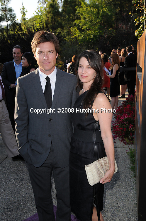 JASON BATEMAN + wife AMANDA ANKA @ the 7th annual Chrysalis Butterfly Ball held @ a Brentwood private residence..May 31, 2008