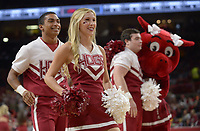 NWA Democrat-Gazette/ANDY SHUPE<br /> Arkansas Cal State-Bakersfield Wednesday, Dec. 27, 2017, during the first half in Bud Walton Arena. Visit nwadg.com/photos to see more photographs from the game.