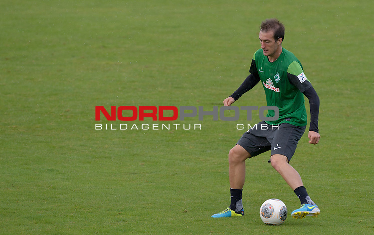 13.08.2013, Trainingsgelaende, Bremen, GER, 1.FBL, Training Werder Bremen, im Bild Luca Caldirola (Bremen #3)<br /> <br /> Foto &copy; nph / Frisch