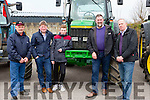 James Riordan listry, Pat o'Connor Ballyfinnane, Tadhg and John Kerins Blennerville and Donal o'brien Listry at the Mid Kerry Macra na Feirme Tractor run in Milltown on Sunday