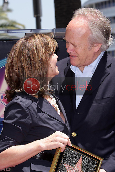 Susan Saint James and Dick Ebersol<br />