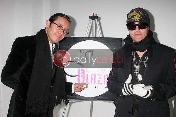 Efren Ramirez and Carlos Ramirez<br />at the Mansion Party Hosted By British Talk Show Host Jacquie Blaze. Private Residence, Beverly Hills, CA. 12-07-07<br />Dave Edwards/DailyCeleb.com 818-249-4998