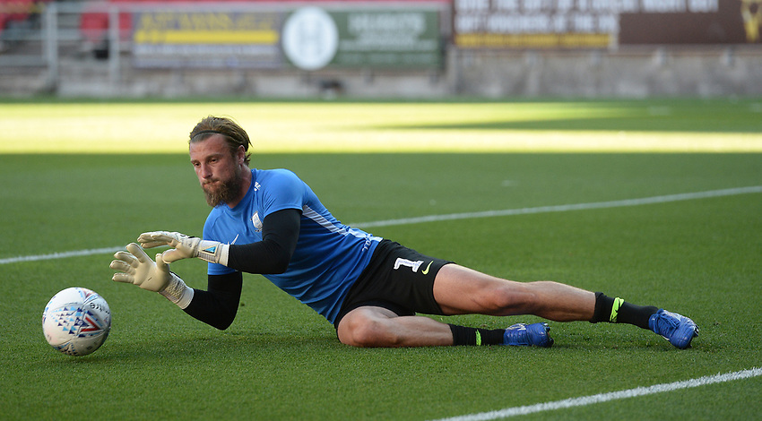 Preston North End's Declan Rudd during the pre-match warm-up <br /> <br /> Photographer Ian Cook/CameraSport<br /> <br /> The EFL Sky Bet Championship - Bristol City v Preston North End - Wednesday July 22nd 2020 - Ashton Gate Stadium - Bristol <br /> <br /> World Copyright © 2020 CameraSport. All rights reserved. 43 Linden Ave. Countesthorpe. Leicester. England. LE8 5PG - Tel: +44 (0) 116 277 4147 - admin@camerasport.com - www.camerasport.com