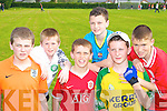 Playing in the St Brendan's College Killarney sports day on Friday was l-r: Gavin Cantillon, Jerimiah Fitzgerald, Michael O'Leary, Daniel O'Sullivan, Daniel Renehan and Michael Coffey    Copyright Kerry's Eye 2008