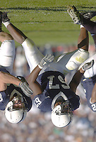 29 October 2005:  Levi Brown (67).The Penn State Nittany Lions defeated the Purdue Boilermakers 33-15 October 29, 2005 at Beaver Stadium in State College, PA..