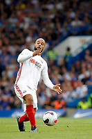 David McGoldrick of Sheffield United in action during the Premier League match between Chelsea and Sheff United at Stamford Bridge, London, England on 31 August 2019. Photo by Carlton Myrie / PRiME Media Images.
