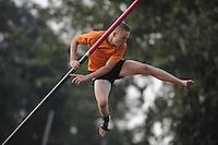 FIERLJEPPEN/POLSTOKVERSPRINGEN: IT HEIDENSKIP: 31-08-2016, Nationale Competitie, ©foto Martin de Jong
