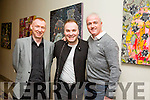 At the Christie Hennessy Festival Weekend  in the Fels Point Hotel on Saturday were singer song writers  l-r  Eoin O'Donnell, Adam Fitzsimons and Jason Lee