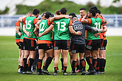 14th September 2017, Alexandra Park, Auckland, New Zealand; New Zealand Rugby Training Session;  All Blacks players in a huddle