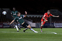 Jordan Maguire-Drew of Leyton Orient goes close during Leyton Orient vs Plymouth Argyle, Caraboa Cup Football at The Breyer Group Stadium on 15th September 2020