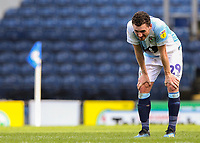 Blackburn Rovers' Corry Evans reacts after the match<br /> <br /> Photographer Alex Dodd/CameraSport<br /> <br /> The EFL Sky Bet Championship - Blackburn Rovers v Stoke City - Saturday 6th April 2019 - Ewood Park - Blackburn<br /> <br /> World Copyright © 2019 CameraSport. All rights reserved. 43 Linden Ave. Countesthorpe. Leicester. England. LE8 5PG - Tel: +44 (0) 116 277 4147 - admin@camerasport.com - www.camerasport.com