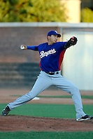Richard Alvarez - AZL Rangers (2009 Arizona League).Photo by:  Bill Mitchell/Four Seam Images..