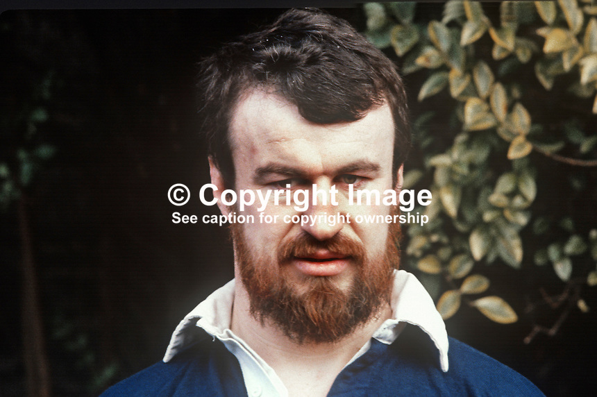 Mick Fitzgerald, rugby player,  Wanderers & Ireland, 198101240002MF..Copyright Image from Victor Patterson, 54 Dorchester Park, Belfast, United Kingdom, UK...For my Terms and Conditions of Use go to http://www.victorpatterson.com/Victor_Patterson/Terms_%26_Conditions.html