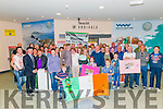 Photo of the Brosnan family and everyone who came to welcome them on arrival from Australia at theKerry Airport last Saturday.