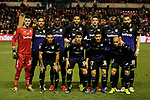 Rayo Vallecano's team photo during La Liga match between Rayo Vallecano and CD Leganes at Vallecas Stadium in Madrid, Spain. February 04, 2019. (ALTERPHOTOS/A. Perez Meca)