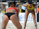 ST. PETERSBURG, FL - JUNE 18: Taliqua Clancy of Australia looks on during the FIVB Beach Volleyball World Tour St. Petersburg Grand Slam presented by the AVP on June 18, 2015 at Spa Beach in St. Petersburg, Florida. (Photo by Donald Miralle for the AVP)