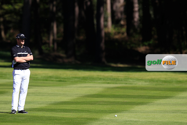 Martin WIEGELE (AUT) during round 1 of the 2015 BMW PGA Championship over the West Course at Wentworth, Virgina Water, London. 21/05/2015<br /> Picture Fran Caffrey, www.golffile.ie:
