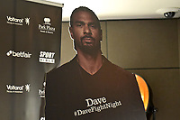 A cardboard cutout of David Haye looks on during a Press Conference at the Park Plaza on 13th June 2018
